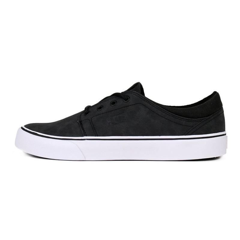 DC TRASE SE 男鞋 运动休闲帆布鞋舒适情侣运动板鞋时尚休闲鞋 ADYS300173BL0