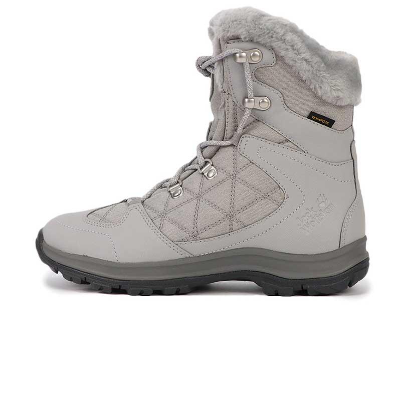 狼爪 Jack wolfskin  女子 户外运动鞋高帮保暖徒步越野耐磨透气慢跑鞋登山鞋 4020532-6125