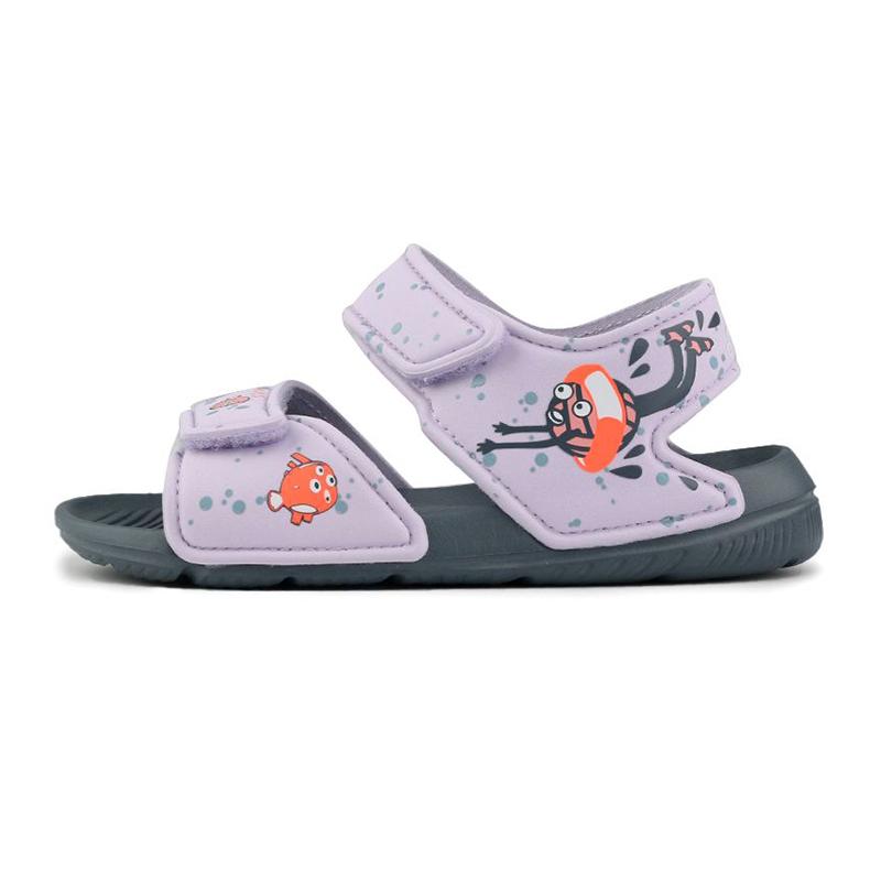 阿迪达斯ADIDAS ALTASWIM C 儿童 露趾运动鞋休闲鞋 EG2179