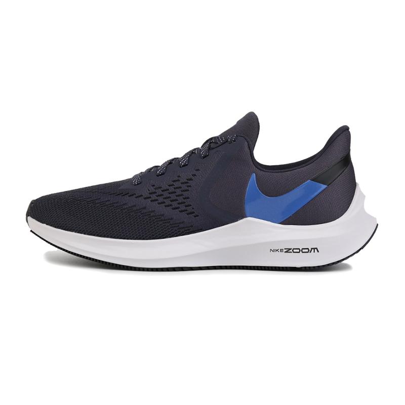 耐克 NIKE ZOOM WINFLO 6 男子 运动休闲气垫缓震跑步鞋 AQ7497-009