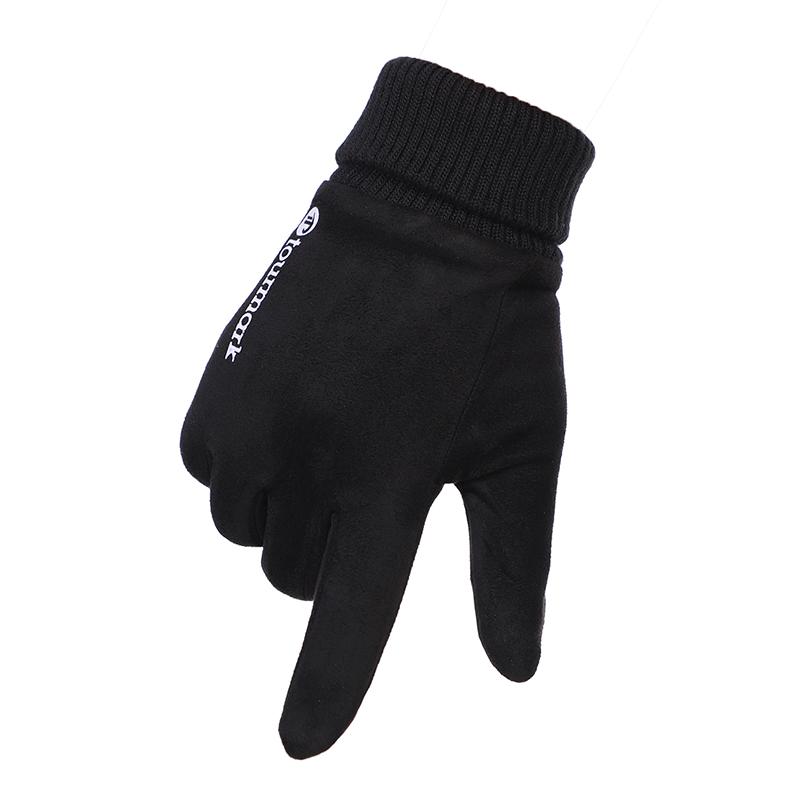 TOURMARK 男子 运动户外骑行旅行防寒保暖防风触屏加绒手套 T32301-02