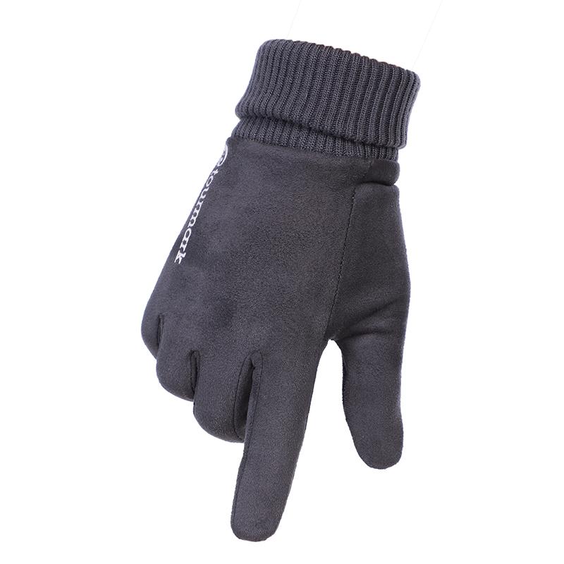 TOURMARK  男子 户外骑行防寒保暖防风触屏内里加绒手套 T32301-07  T32301-02