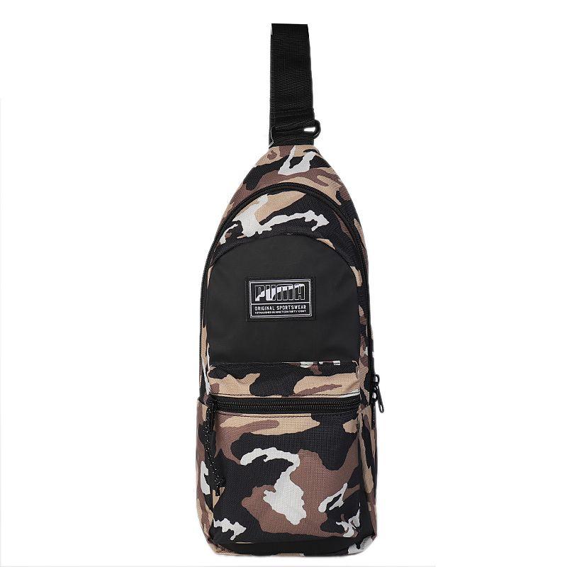 彪马PUMA  Academy Cross Backpack 男女 运动包胸包迷彩小包斜挎包腰包 075736-27