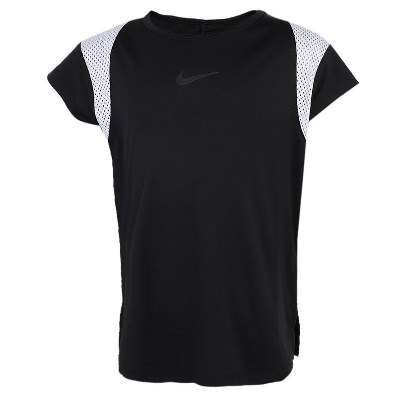 耐克NIKE 儿童 圆领透气舒适运动短袖休闲宽松上衣半袖 CU8212-010
