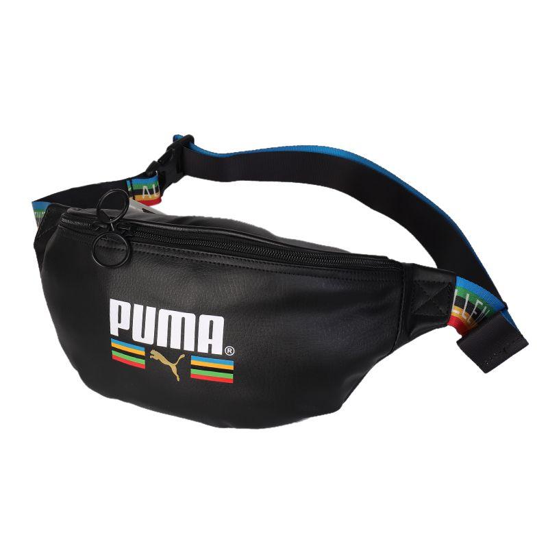 彪马PUMA Originals PU Waist Bag TFS 男女 运动包胸包休闲包斜挎背包 077784-01