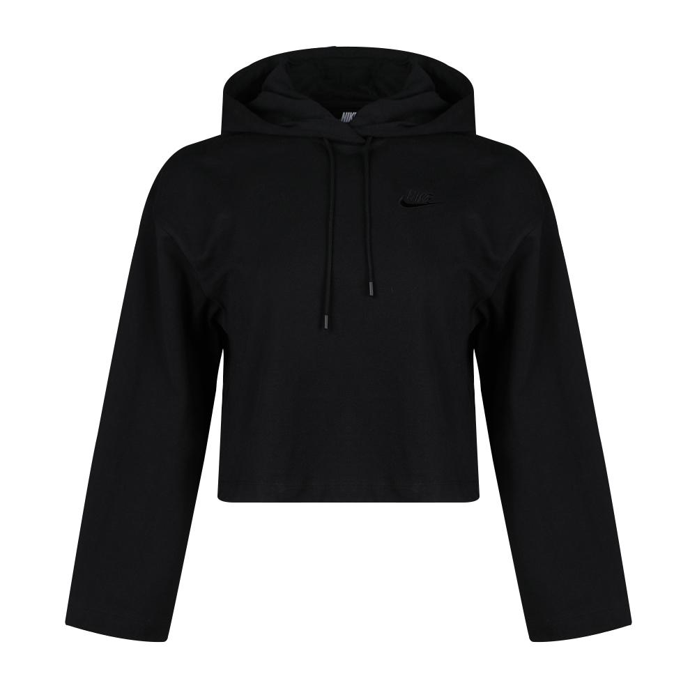 耐克NIKE AS NSW HOODIE JRSY 女装 连帽卫衣 CJ3741-010