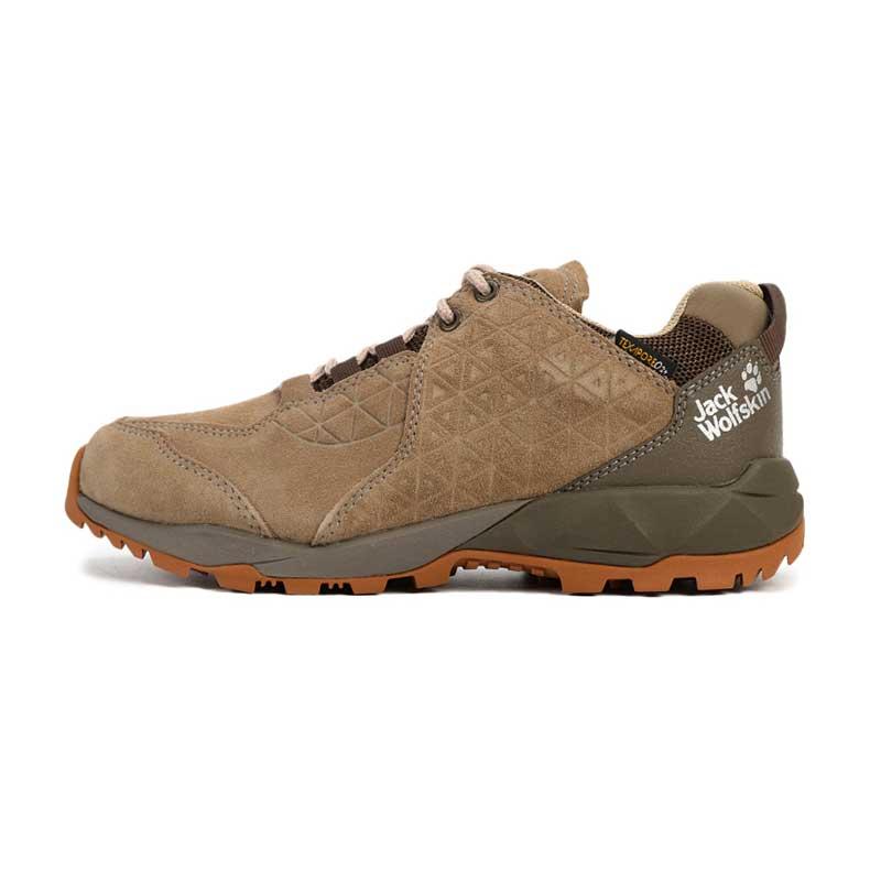 狼爪 Jack wolfskin  女子 户外运动鞋徒步越野耐磨透气慢跑鞋登山鞋 4035521-5224