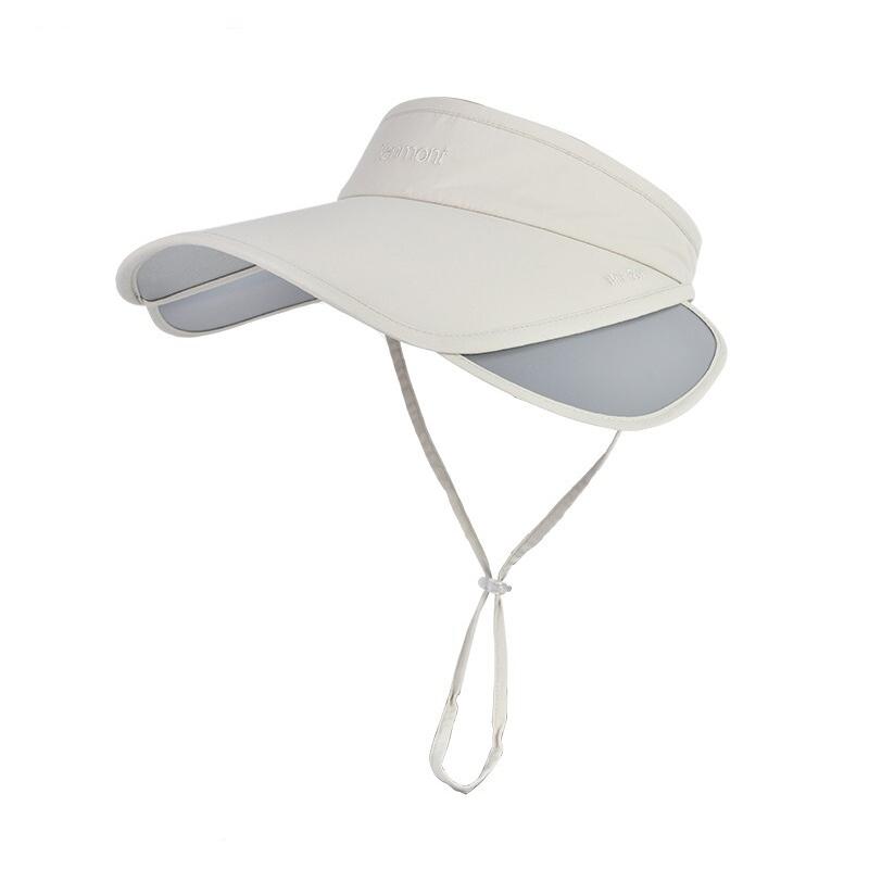 卡蒙Kenmont 女子 运动网球遮阳户外运动快干太阳帽空顶帽 KM-3228-27