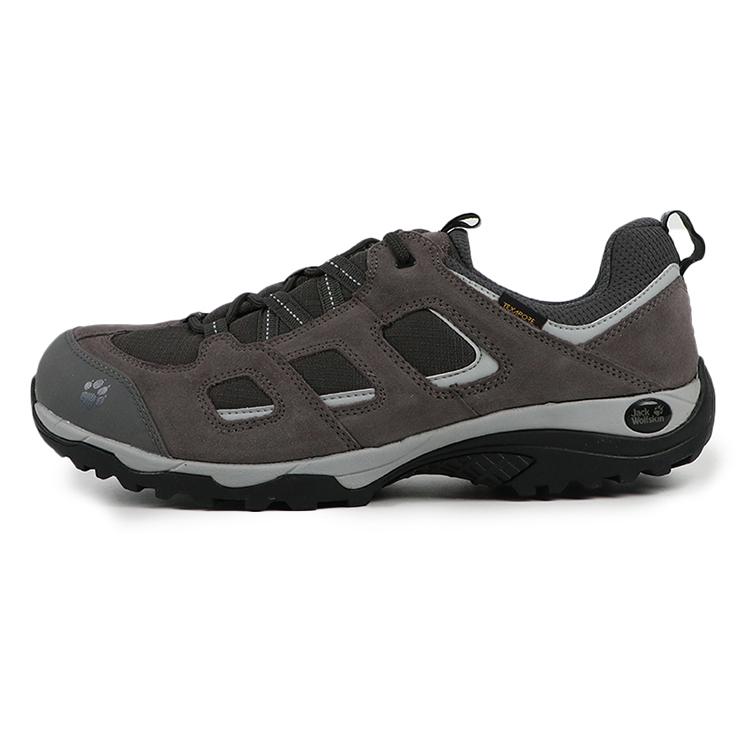 JackWolfskin狼爪男鞋 2019春季 户外透气登山鞋耐磨徒步鞋 4032361-6011