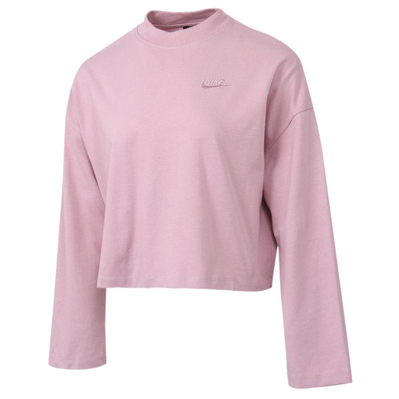 耐克NIKE AS  NSW TOP LS JRSY 女装 运动上衣休闲训练套头衫T恤 CZ3557-516