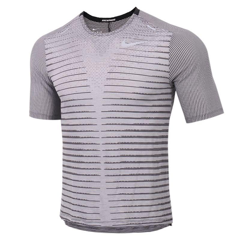 耐克NIKE TECHKNIT TOP SS FF 男装 运动跑步训练健身快干透气舒适休闲T恤 CU6057-010