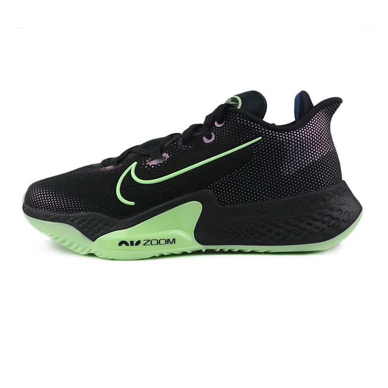 耐克NIKE AIR ZOOM BB NXT  男女 黑绿实战气垫篮球鞋 CK5708-001