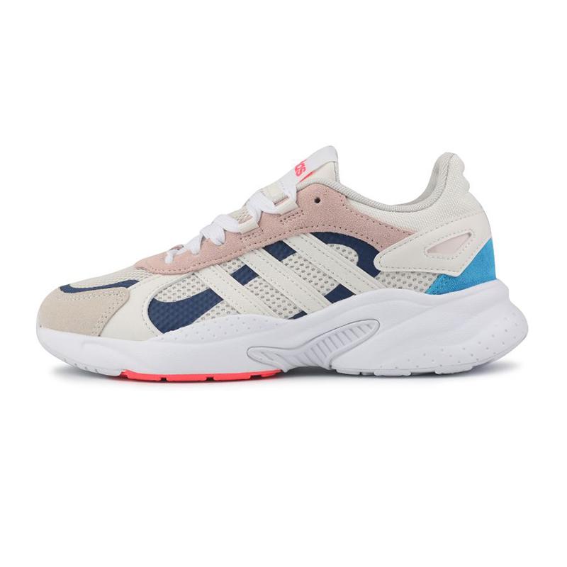阿迪生活Adidas NEO 女鞋 运动减震透气复古低帮休闲鞋 FY7827