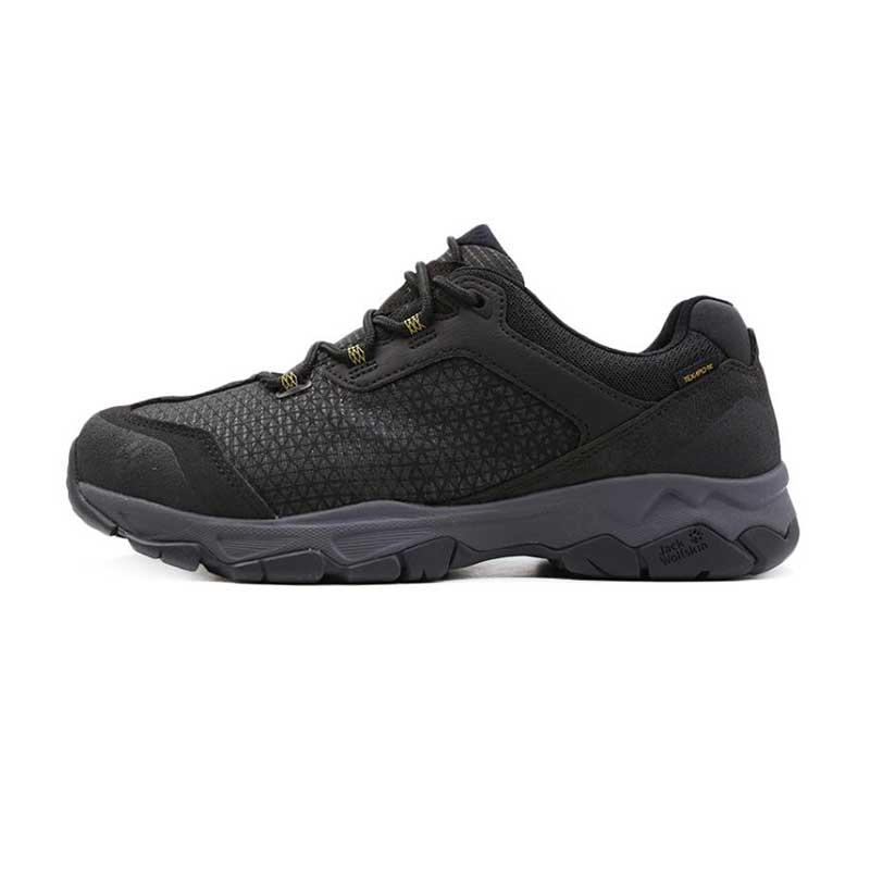 Jack wolfskin狼爪男鞋 2019春季 户外运动鞋鞋防泼水登山鞋耐磨徒步鞋4032431-3802