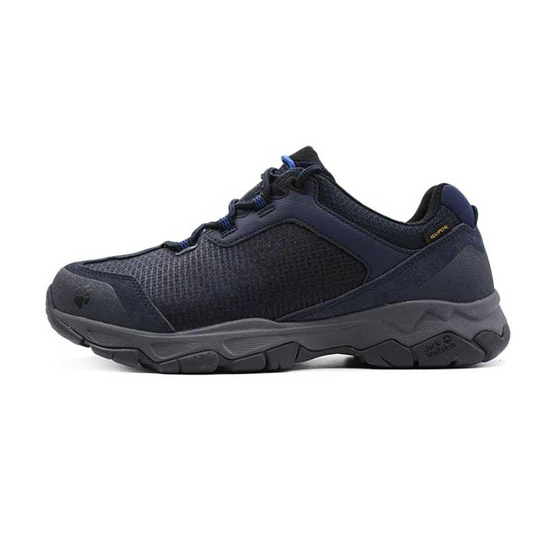 Jack wolfskin狼爪男鞋 2019春季 户外运动鞋鞋防泼水登山鞋耐磨徒步鞋4032431-1010