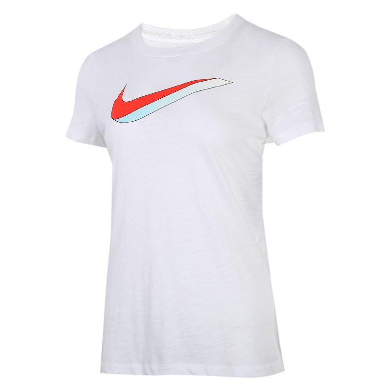 耐克NIKE NSW TEE ICON 女装 运动时尚潮流运动休闲舒适T恤 CW9477-100