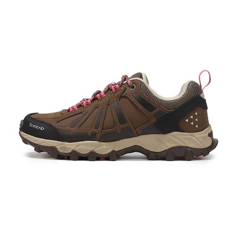 探路者 TOREAD 女子 户外运动鞋越野耐磨透气慢跑鞋徒步鞋 KFAG92353-F18A