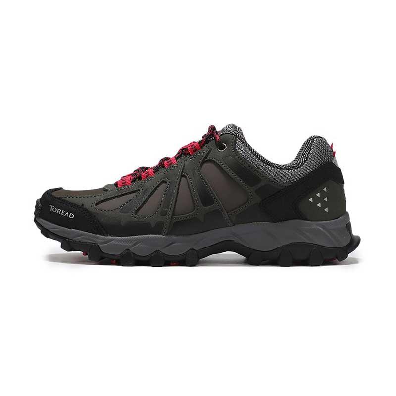探路者 TOREAD 女子 耐磨休闲运动透气越野登山鞋 KFAG92353-G08A