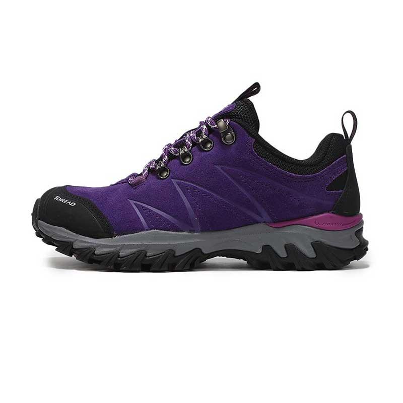 探路者 TOREAD 女子 户外运动鞋越野耐磨缓震低帮透气慢跑鞋徒 KFAG92338-E33E