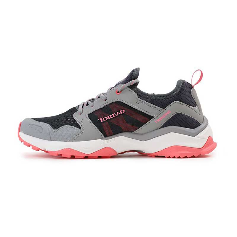 探路者 TOREAD 女子 户外运动越野耐磨透气慢跑户外徒步鞋 KFAG82323-G06A