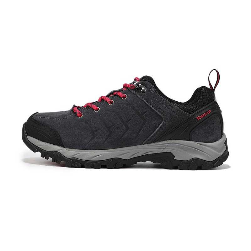 探路者 TOREAD 女子 户外运动越野耐磨换证低帮透气慢跑徒步鞋 KFAG92328-G08A