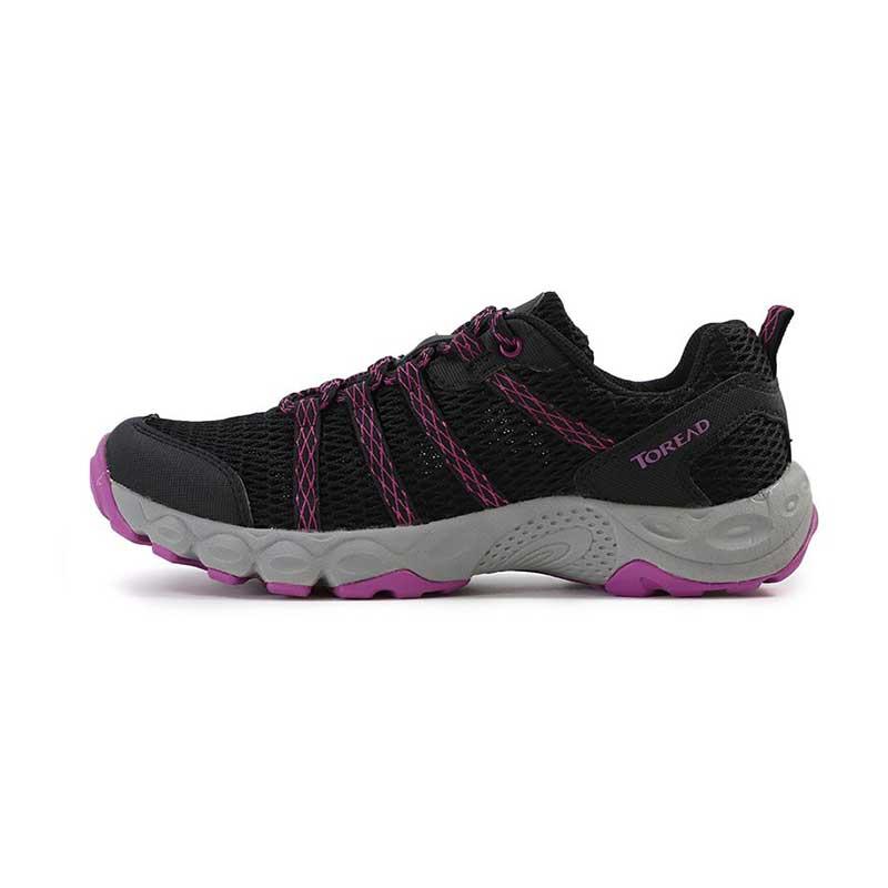 探路者 TOREAD 女子 户外防滑休闲运动耐磨透气运动鞋旅行休闲鞋  KFAG82389-G01E