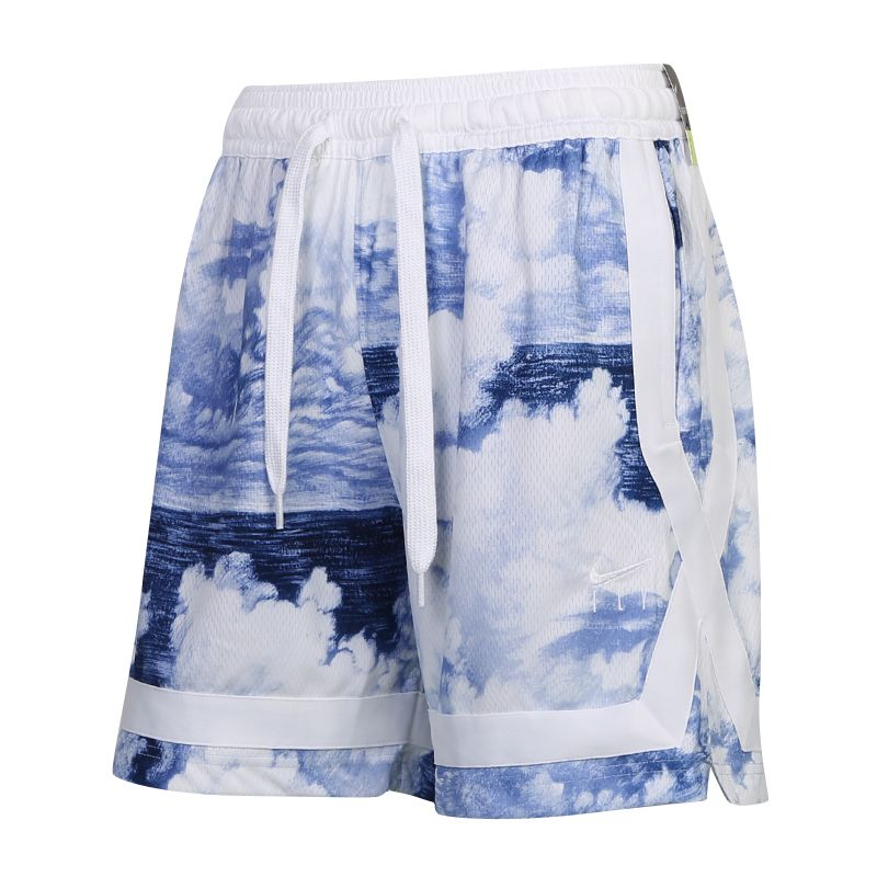 耐克NIKE FLY CROSSOVER AOP SHORT 女装 跑步篮球宽松时尚休闲五分裤子短裤 CU3486-405