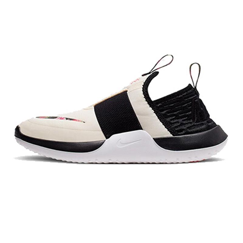耐克 Nike 童鞋女童运动鞋 NITROFLO VF 一脚蹬儿童休闲鞋 CJ7069-100
