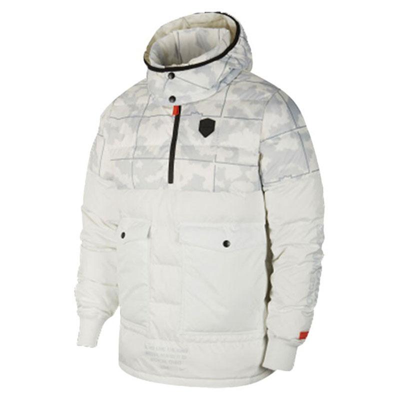 耐克NIKE 男装 冬季新款运动服舒适休闲连帽短款羽绒服外套 T3905-121