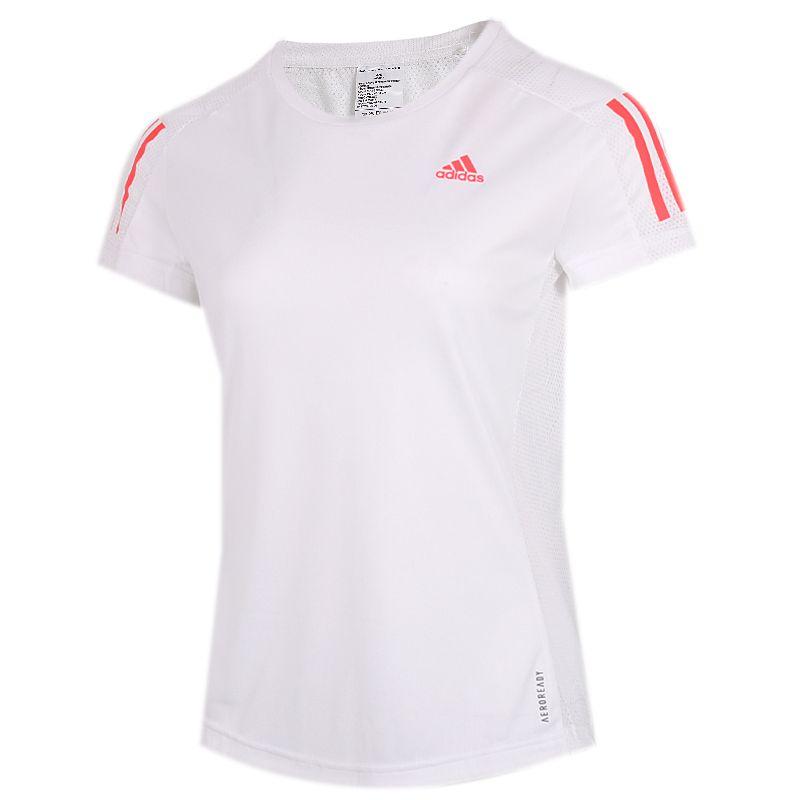 阿迪达斯ADIDAS OWN THE RUN TEE 女装 运动跑步透气短袖T恤 GC6621
