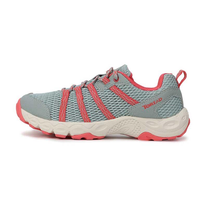 TOREAD探路者女鞋春季新款户外运动鞋越野耐磨透气慢跑鞋徒步鞋KFAG82389 KFAG82389-G04A