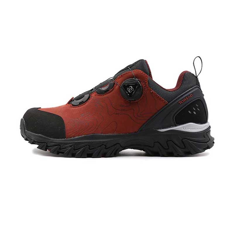 探路者女鞋秋冬季 户外耐磨防滑透气登山徒步鞋KFAF92304-A09G