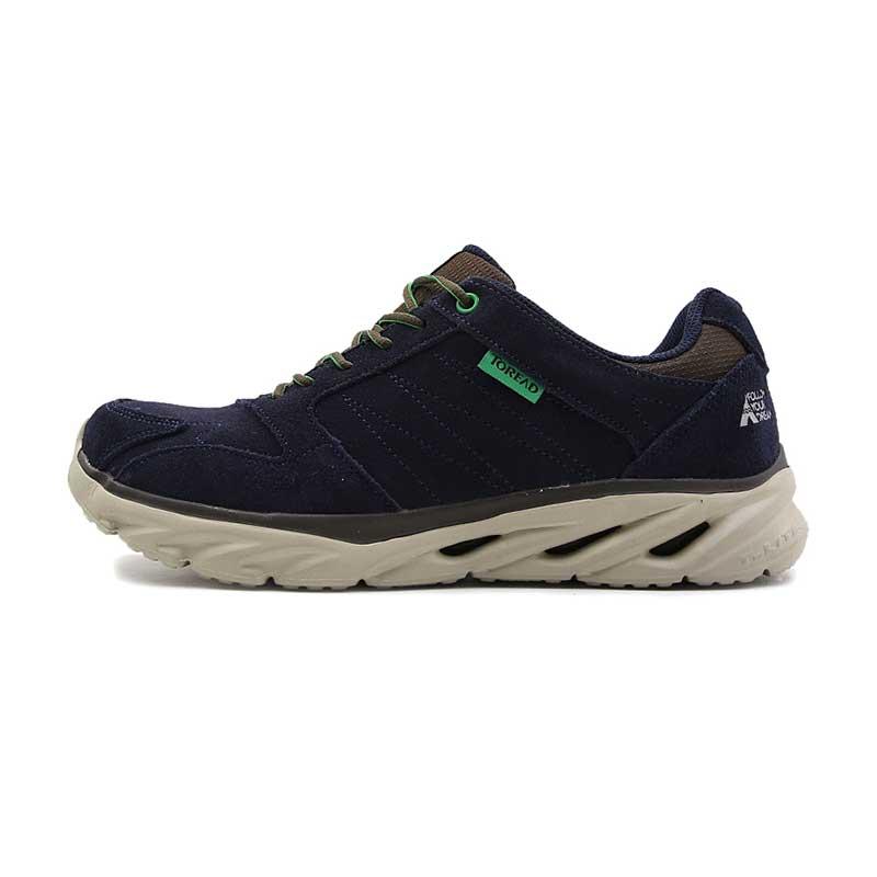 探路者男鞋 户外秋款轻便耐磨透气健步鞋运动休闲鞋徒步登山鞋TFOF91734-C03C