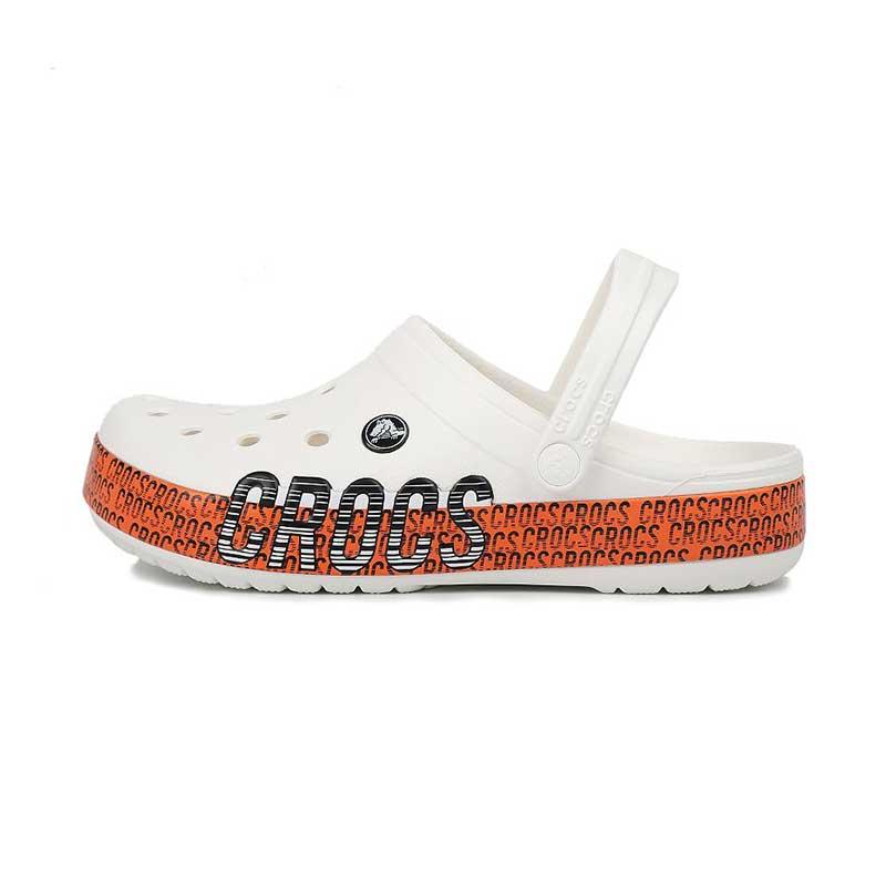卡骆驰Crocs 男女 动感LOGO卡骆班沙滩洞洞鞋子透气凉拖鞋 206381-127