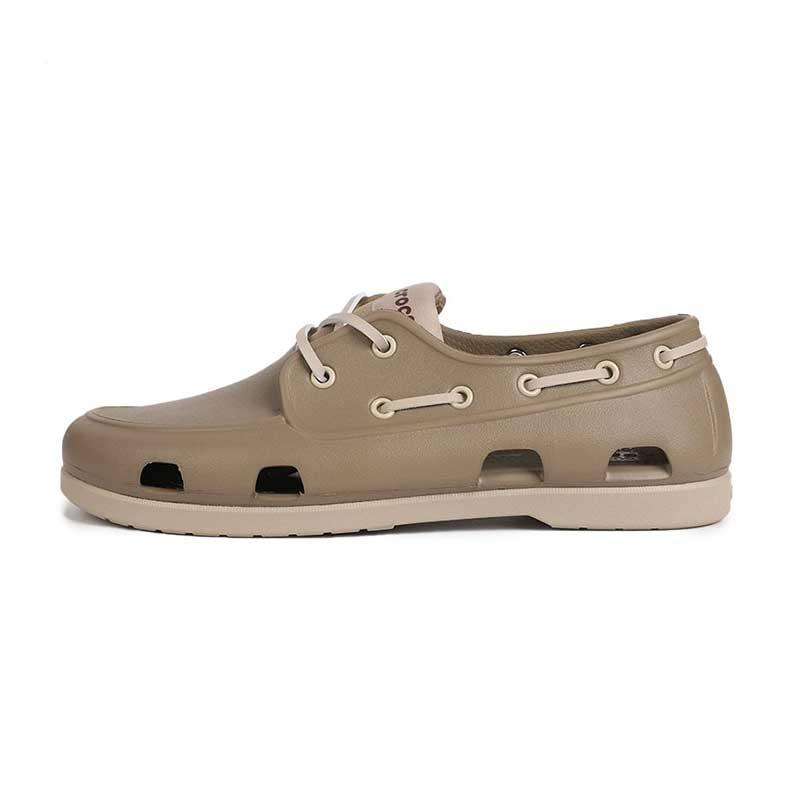 卡骆驰Crocs 男鞋 沙滩鞋英伦帆船鞋休闲凉鞋 206338-2U6