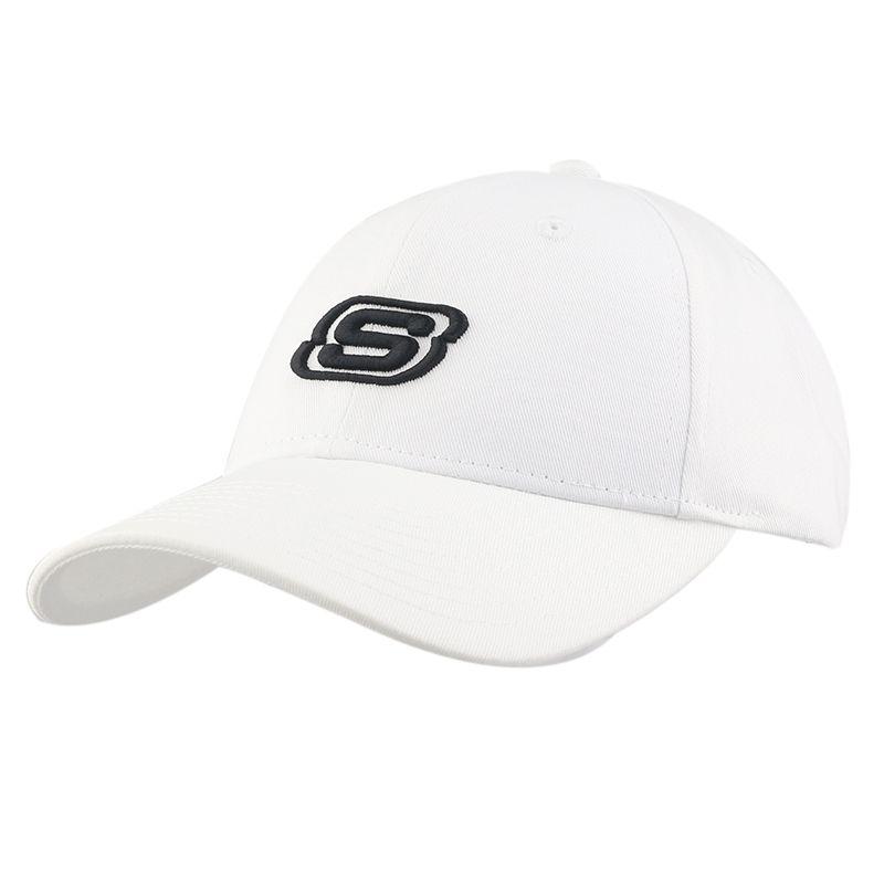 斯凯奇SKECHERS 男女 运动透气鸭舌休闲棒球帽 L319U045-0019