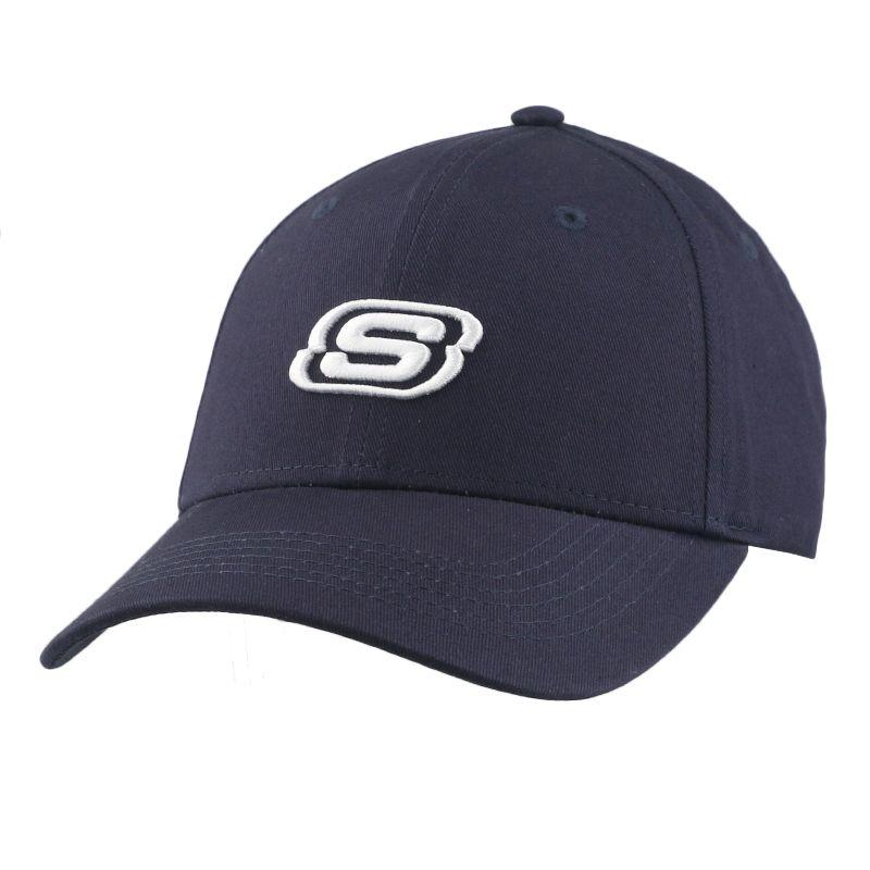 斯凯奇SKECHERS 男女 运动休闲鸭舌棒球帽 L319U045-002Z