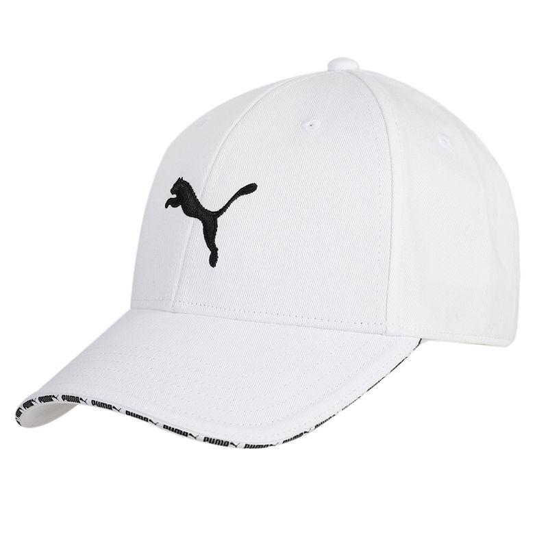 彪马PUMA Visor Cap 男女 运动帽简约LOGO刺绣鸭舌帽 022824-03
