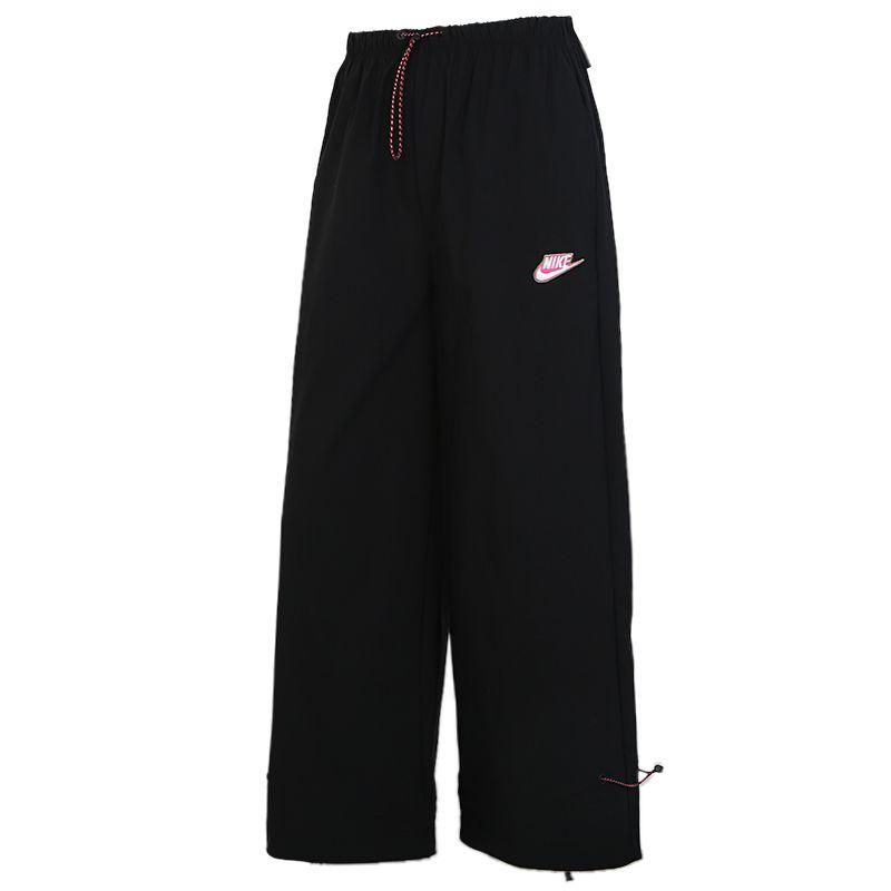 耐克NIKE NSW ICN CLSH PANT WVN 女装 运动休闲阔腿长裤 CU5980-010