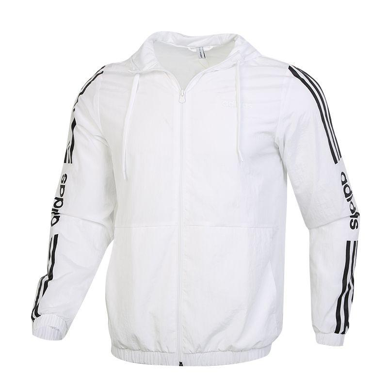 阿迪生活Adidas NEO ESNTL 3S WB 男装 运动休闲梭织夹克 FP7451