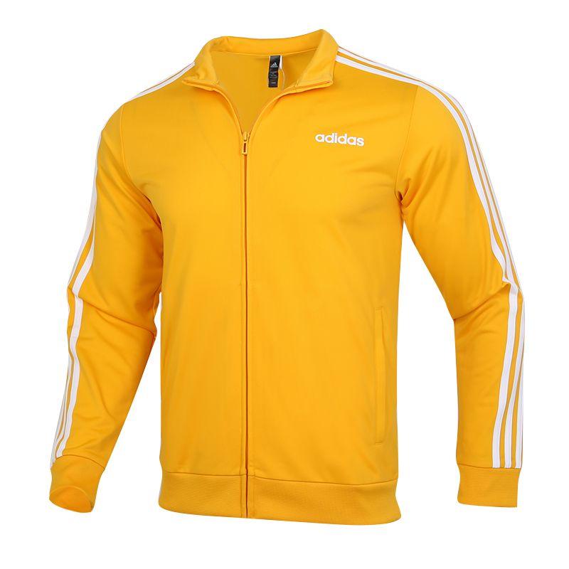 阿迪达斯ADIDAS 男装 2020秋冬新款运动跑步训练健身透气舒适防风休闲立领针织外套 GD5241