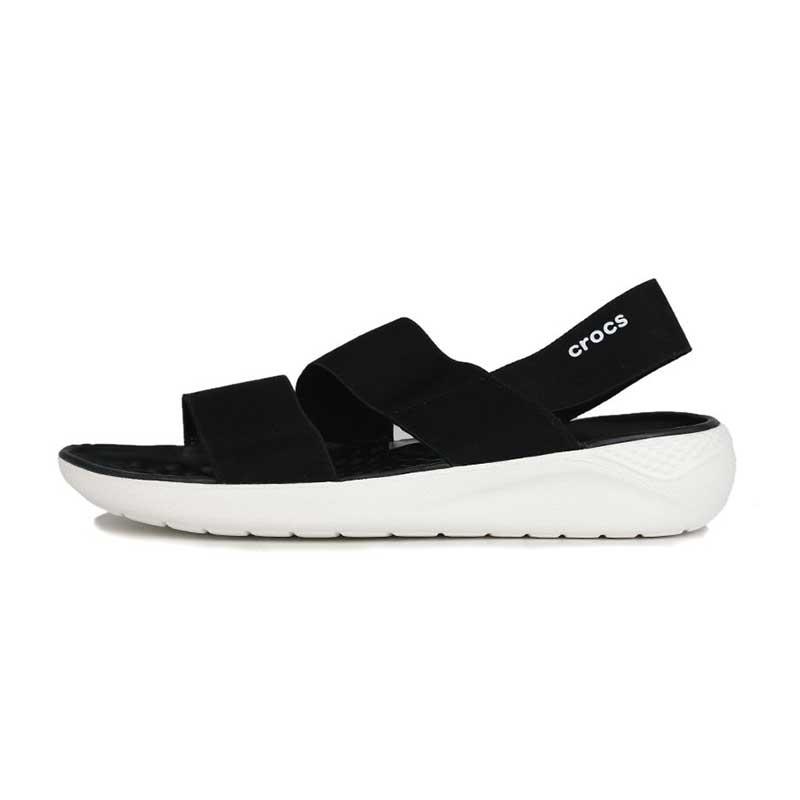 卡骆驰Crocs 女鞋 LiteRide休闲时尚耐磨透气舒展凉鞋 206081-066