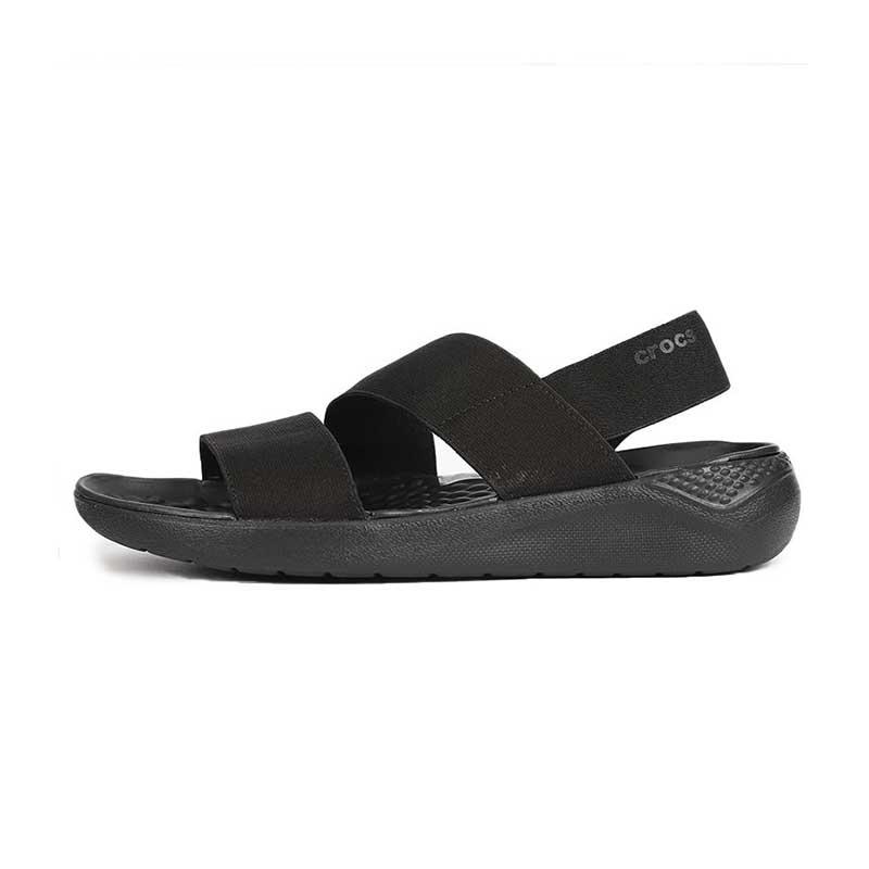 卡骆驰 Crocs 女鞋 LiteRide休闲时尚耐磨透气舒展凉鞋 206081-060