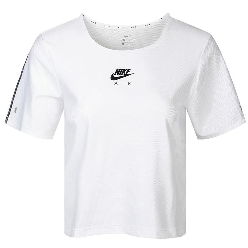 耐克NIKE AS  AIR TOP SS 女装 运动休闲半袖上衣跑步健身T恤 CU3059-100