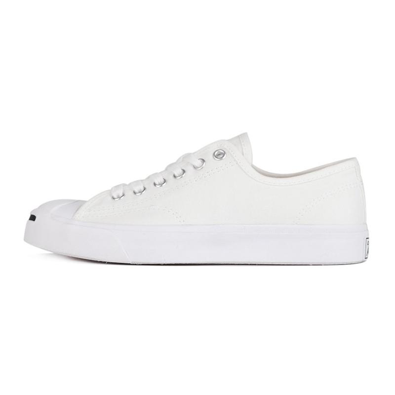 匡威CONVERSE 男女 开口笑低帮休闲鞋板鞋小白鞋帆布鞋  164057