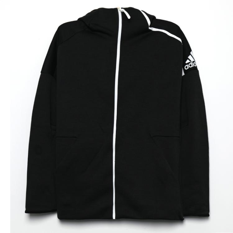 Adidas 阿迪达斯 男子 ZNE连帽舒适透气休闲训练运动夹克外套上衣 CY7374 DM5543