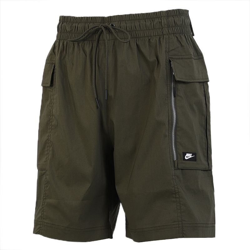 耐克NIKE  男装 户外休闲舒适五分系带大口袋短裤 AR2374-325