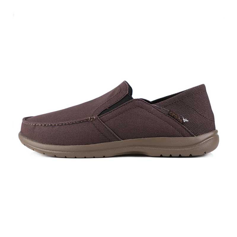 卡骆驰 Crocs 男子 圣克鲁兹敞篷便鞋休闲帆布鞋  204834-23B