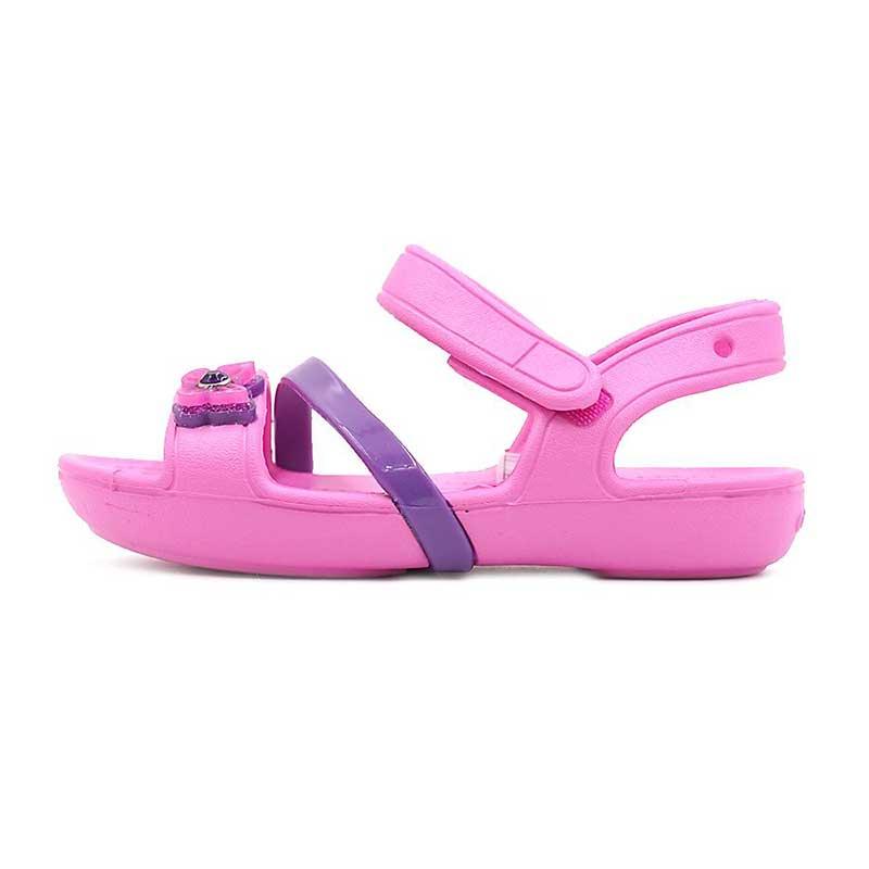 卡骆驰 Crocs  儿童 莉娜小凉鞋沙滩鞋时尚凉鞋 205043-6U9