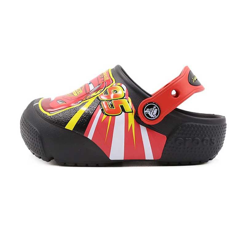 卡骆驰 Crocs 趣味学院麦昆酷闪小克骆格 儿童 凉拖鞋 拖鞋 205497-001